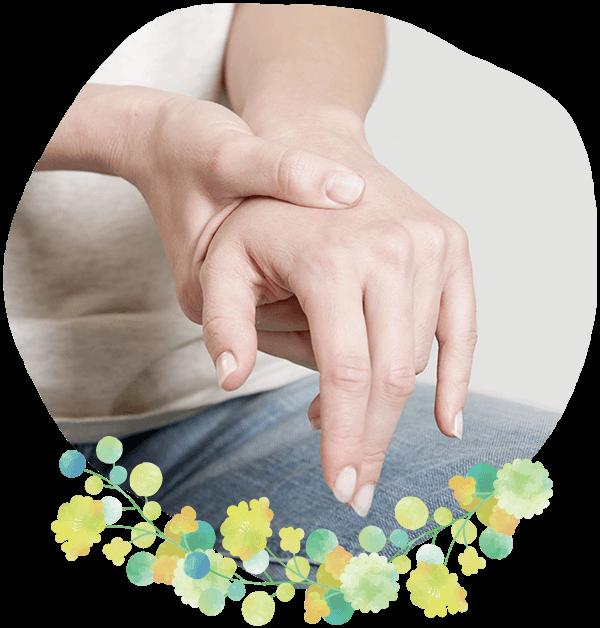 手術をしない腱鞘炎・ばね指の治療